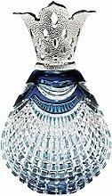 LAMPE BERGER Bijou Bleue Duftlampe, Kristallglas,