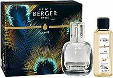Lampe Berger Etincelle Grise Duftlampe-Set, Glas,