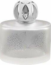 Lampe Berger Geschenkset Floralie matt weiß Duftlampe, Glas, Transparent, 8 x 8 x 13 cm, 1 Einheiten