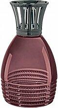LAMPE BERGER Perle Prune Duftlampe, Glas: lila