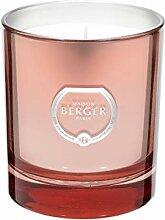 LAMPE BERGER Poesie Duftkerze, Glas, Rosa, 240 gr