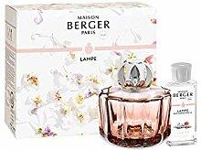 LAMPE BERGER Poesie Duftlampe, Glas, Rosa/Silber,