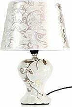 Lampe elegant edel Tischleuchte Tischlampe Nachtlichter Relief stilvoll !!!