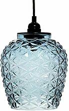 Lampe Glas Glaslampe Hängeleuchte Hängelampe