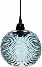 Lampe Glas Rund Kugel Glaslampe Hängeleuchte