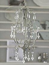 Lampe Hängelampe Deckenlampe Kronleuchter weiß