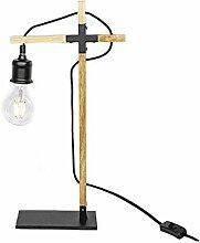 Lampe Holz 24x50x11cm