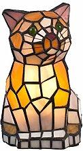 Lampe im Tiffany Style, Tiff101, Figurenlampe