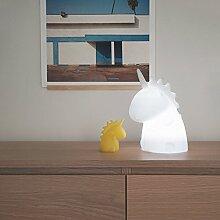 Lampe Junior weißes Einhorn, mehrfarbig–Uni
