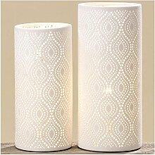 Lampe Kathy H24 D11cm Material: Porzellan