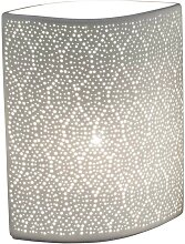 Lampe, Leuchte SWING PUNKTE oval B. 23cm H. 28cm