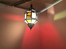 Lampe Marokkanische Laterne Aluminium ORIENTALE