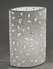 Lampe Oval Harmonie Romantik 18x28 cm
