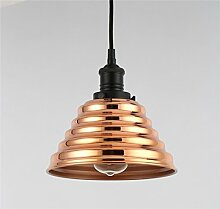 Lampe Pyramide verkupferter + LED-Lampe