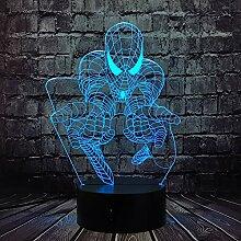 Lampe Spiderman Sicherheit des Babys Smart Touch