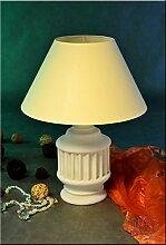 Lampe Tischlampe Tischleuchte Stehlampe Steinlampe