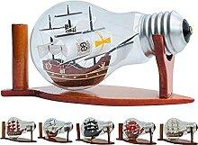 Lampen-222 Schiffs-Lampe, dekoratives Glas,