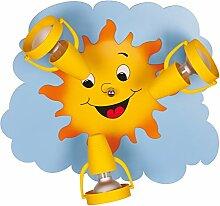 Lampencity Kinderlampe Sonne Deckenleuchte,
