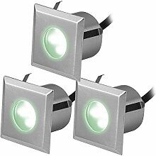 Lampenlux 3er SET LED Einbaustrahler Rimy