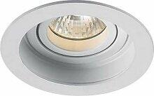 Lampenlux Einbaustrahler, Aluminium