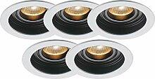 Lampenlux LED Einbaustrahler rund ultra flach
