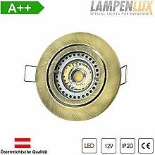 Lampenlux LED Einbaustrahler Samila rund 12V MR16