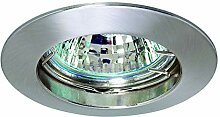Lampenlux LED Einbaustrahler Sarto Spot Aluminium