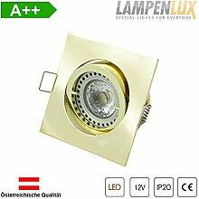 Lampenlux LED Einbaustrahler Snap eckig 12V MR16