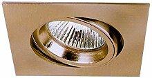 Lampenlux LED Einbaustrahler Snap eckig schwenkbar