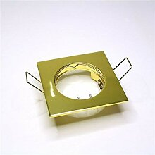 Lampenlux LED-Einbaustrahler Spot Rodeo eckig gold