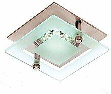 Lampenlux LED-Einbaustrahler Spot Sato Glas