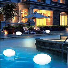 Lampenlux LED RGB Außenlampe Schwimmkugel
