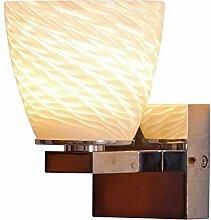 Lampenlux LED Wandlampe Alonso Kristall Glas