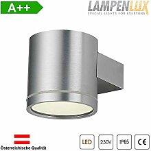 Lampenlux LED Wandlampe Karim Rund IP65