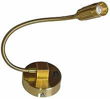 Lampenlux LED Wandlampe Wandleuchte Nico Leselampe