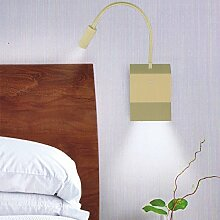 Lampenlux LED Wandlampe Wandleuchte Uno Leselampe