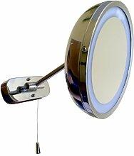 Lampenlux Wandlampe Wandleuchte mit Schminkspiegel