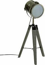 Lampenreflektor aus Metall, braun, Designer-Lampe,