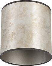Lampenschirm 20/20/20 zink - taupe