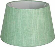 Lampenschirm 25cm Wildseide Grün