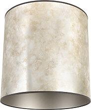 Lampenschirm 40/40/40 zink - taupe