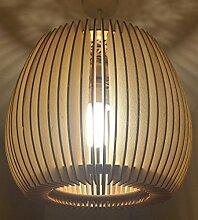 Lampenschirm aus Holz, wunderschöne Details,