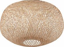 Lampenschirm für Hängelampe aus Rattangeflecht
