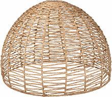 Lampenschirm für Hängeleuchte aus Pflanzenfaser