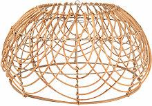 Lampenschirm für Hängeleuchte aus Rattan
