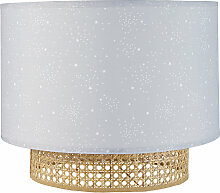 Lampenschirm für Hängeleuchte, mit Sternenmuster