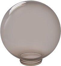 Lampenschirm für Leuchten rauchgrau E27