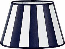 Lampenschirm für Tischleuchte in Rund Streifen