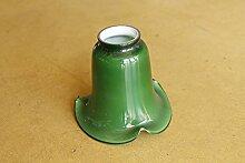 Lampenschirm glocke, grün, ersatzteil für lampe