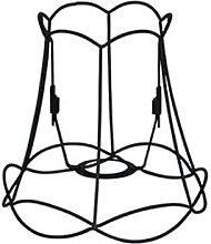 Lampenschirm Granny Frame 20 cm DS E27 schwarz